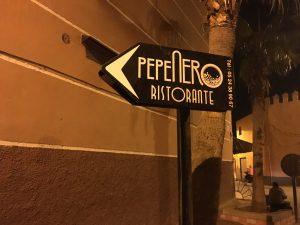 Pepe Nero signpost