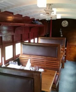 tea factory train carriage