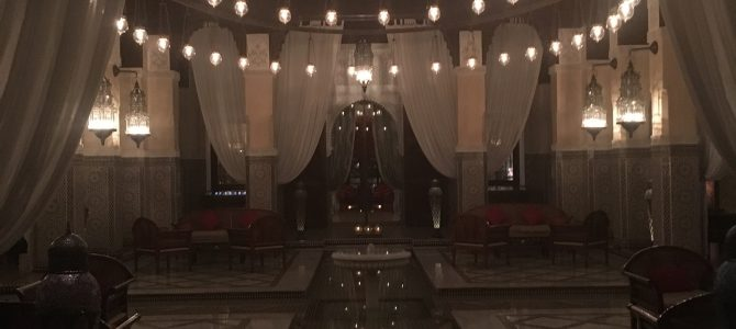 After Dinner Drinks @ Royal Mansour, Marrakech