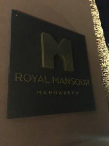 After Dinner Drinks @ Royal Mansour, Marrakech 2