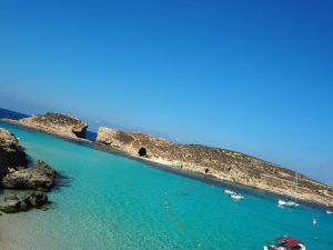 """Comino with Me""- Blue Lagoon 5"