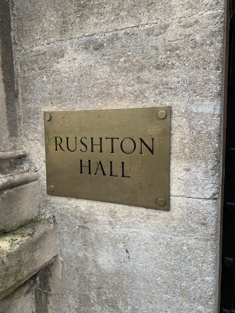 Rushton Hall & Spa- Discovering history & relishing it! 2