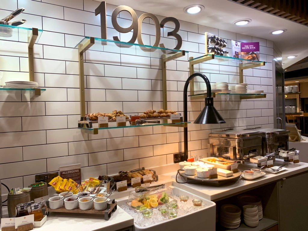 Checking into the 1903 Lounge @ Manchester T3 9